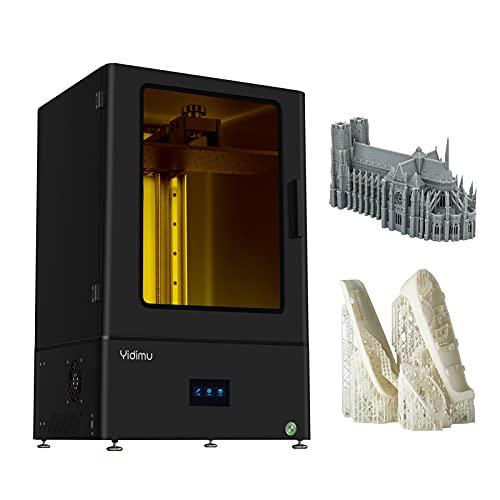 Jabey L1303 Impresora 3D UV Photocurado LCD Resina Impresora 3D de Alta precisión con 13.3 Pulgadas 4K Monocromo LCD Impresión Fuera de línea Volumen de construcción 11.6x6.5x13.6in