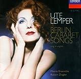 Ute Lemper - Berlin Cabaret Songs