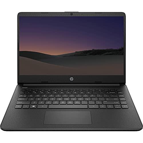 2021 Newest HP Premium 14-inch HD Laptop, Intel Dual-Core Processor Up to 2.8GHz, 4GB RAM, 64GB eMMC Storage, Webcam, Bluetooth, HDMI, Wi-Fi, Black, Windows 10 with 1 Year Microsoft 365