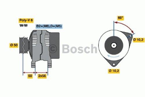 BOSCH 0986046230 Generator