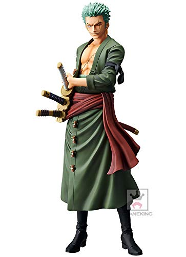 Banpresto. One Piece Figure Roronoa Zoro Grandista The Grandline Men Ahora Disponible!