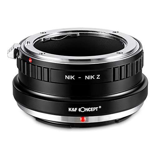 K&F Concept Lens Mount Adapter for Nikon F/AF AI AI-S Mount Lens to Nikon Z6 Z7 Camera