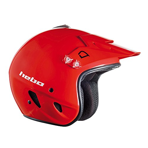 Hebo Trial Zone Polycarbonat Helm L rot