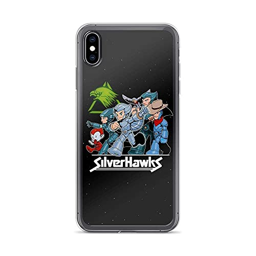 Compatible con iPhone 7 Plus/8 Plus Case Silvers Hawks Chibis Heroic Space Police Halloween Estilos American Animated TV Series Pure Clear Phone Cases Cover