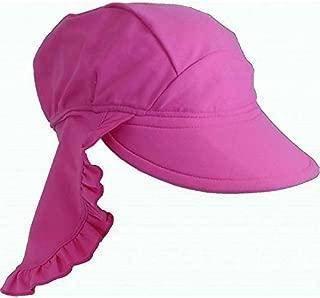 Baby Banz 42215 Banz 50+ UV Koruma Flap Güneş Şapkası, Pembe