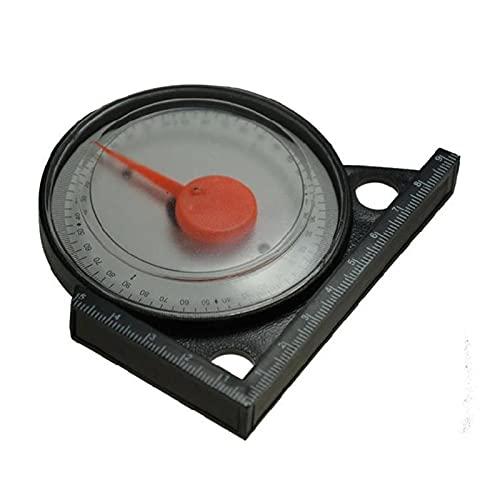 YCKL Neigungsmesser, Neigungswinkeldetektor, Goniometer, aus ABS-Material, feiner Verarbeitung, hohe Transparenz, geeignet, um den horizontalen Winkel einzustellen (Size : A)