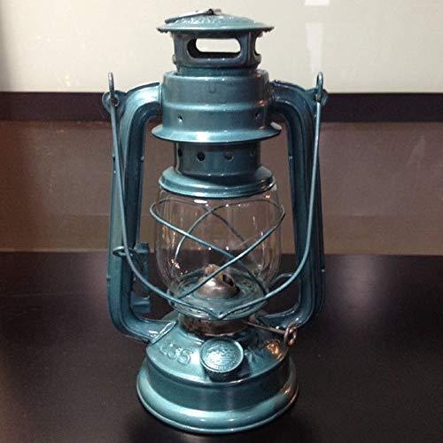 KMYX Tente de Camping lumière Antique Vieille Lampe au kérosène Lampe xénon Lampe de Cheval Lampe de Camping réel Vieille Lampe de Collection
