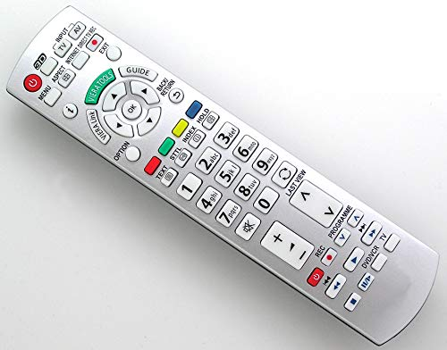 Ersatz Fernbedienung for Panasonic TV TX-L42ES31 TX-L42ET5YW TX-L42ETW5W TX-L42EW30 TX-L42EW5S TX-L42EX34