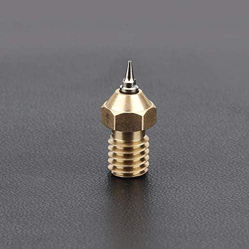 Printeraccessoires 3D Printer Onderdelen 02mm Nozzle Airbrush Nozzle Adapter Set Airbrush Nozzle Adapter met Nozzles voor V6 Hotend 175mm Filament 3D Printing Accessoires