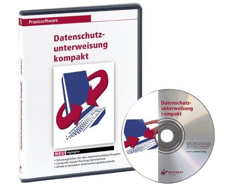 Datenschutzunterweisung kompakt, 1 CD-ROM