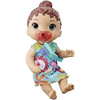 Baby Alive Baby Lil Sounds: Interactive Baby Doll (Teal Dress)