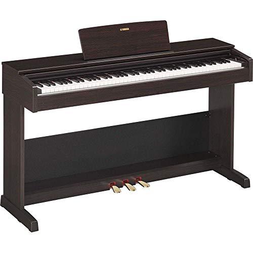 Piano Digital ARIUS, Yamaha, YDP-103R, Marrom