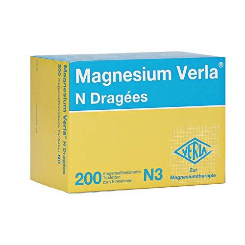 Magnesium Verla N Dragees, 200 St. Tabletten