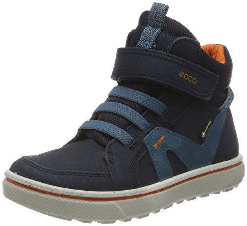 Ecco Jungen GLYDER Hohe Sneaker, Blau (Night Sky/Indian Teal 51787), 33 EU
