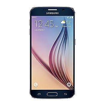 Samsung Galaxy S6 G920a 32GB Unlocked GSM 4G LTE Octa-Core Smartphone w/ 16MP Camera - Black  No Warranty