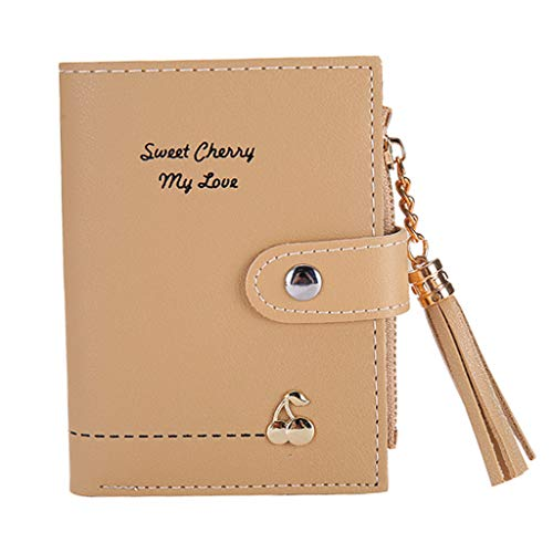 iHENGH Wallet Fashion Women Tassel Zipper Short Handbag Clutch 2019 Borsa Moda Casual Donna Borsetta Corta Carino Ragazza Estate