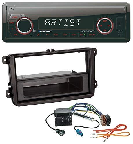caraudio24 Blaupunkt Madrid 170 BT MP3 USB AUX Bluetooth SD Autoradio für VW Caddy Golf V VI Jetta ab 03