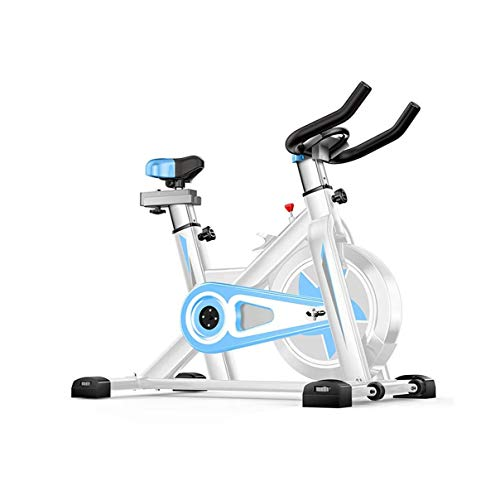 Spin Bike, Classic Indoor Cycling Bike With Adjustable Seats and Large Seat Cushions Allows You to Perform Aerobic Exercise Quietly and Comfortably