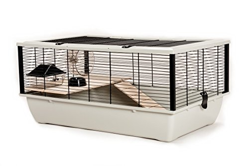 Little Friends Grosvenor ratten- en hamsterkooi met houten platform en ladder
