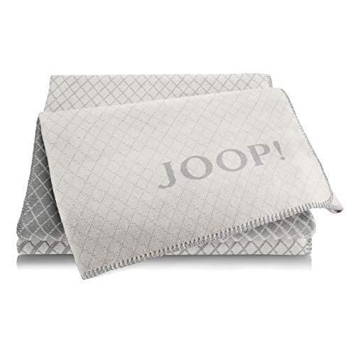 Joop! Plaid Diamond | Rauch-Graphit - 150 x 200 cm