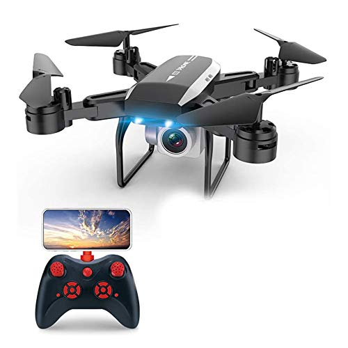 Drone with Camera 1080P HD FPV Drone Mini Drone Foldable RC Quadcopter Phone Controlled Real-time Video Feed Altitude Hold One-Key Take-Off Drones for Adults Kids Beginners