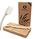 Chinchilla® 6 Pack Cepillo de dientes biodegradable | 100% libre de BPA, ecológico, natural y vegano | Cepillos de Dientes de Cerdas Suaves