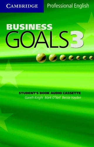 Business Goals 3 Audio Cassette
