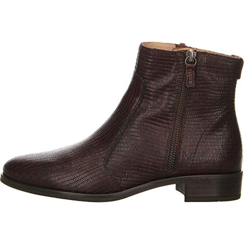 Unisa Damen Stiefelette Bras Boots braun Gr. 39
