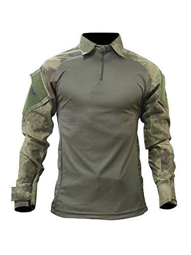 Farda Calça Rip Stop Camisa Reforçada Paint Ball Polícia Penal Civil Militar (38, Verde)