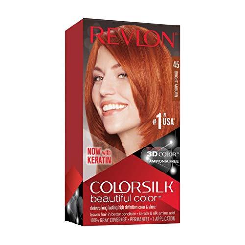 Revlon ColorSilk Beautiful Color, Bright Auburn