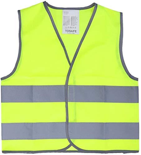 Night Veiligheid Vesten Reflective Vest High Visibility Vest van de Veiligheid for de bouw van het Kostuum Lopen Fietsen XMJ