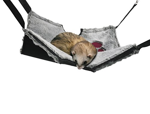 Rosewood Snuggles 2-in-1 Hanging Tunnel and Ha mm ock