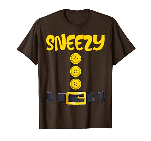 Brown Dwarf Costume Funny Halloween Christmas Gift Sneezy T-Shirt