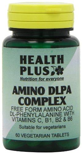 Health Plus DLPA Complex Amino Acid Supplement - 60 Tablets
