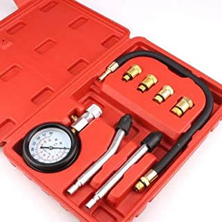 Medidor de Compressão de Cilindro Linha Leve 4 Adaptadores GT824 - Lorben
