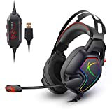 Cosmic Byte Equinox Europa 7.1 USB Dual Driver Gaming Headset with Software, Spectra