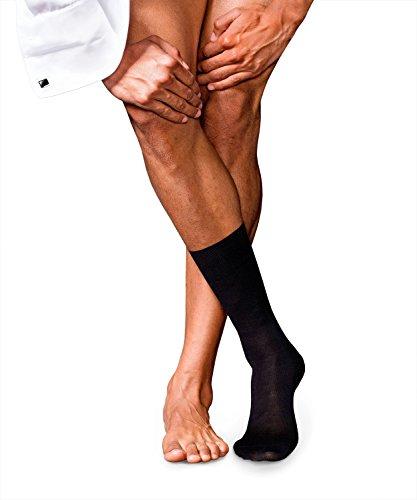 FALKE Herren No. 6 Finest Merino und Silk M SO Socken, Schwarz, 47-48 (UK 11.5-12.5 Ι US 12.5-13.5)