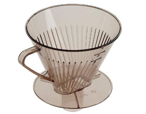 Westmark Stutzen-Kaffeefilter, Für bis zu 4 Tassen Kaffee, Filtergröße 4, Kunststoff, Transparent, 24452270