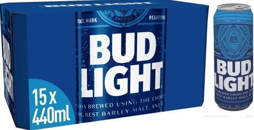 Bud Light 15 x 440ml