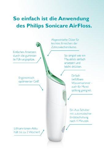 Philips Sonicare HX8111/02 Air Floss zur Zahnzwischenraum Reinigung - 4