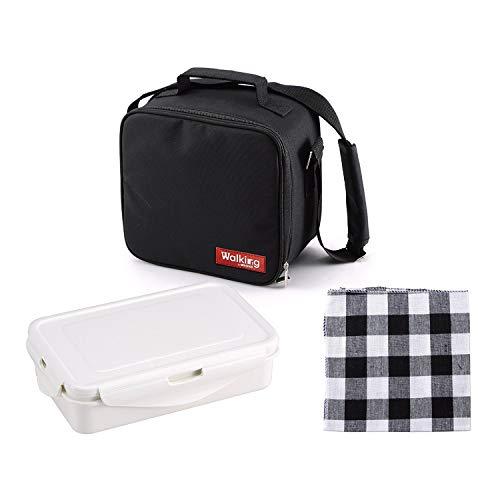 Bergner Cube Porta Alimentos de poliéster, 23 x 22 x 13,5 cm, Tela