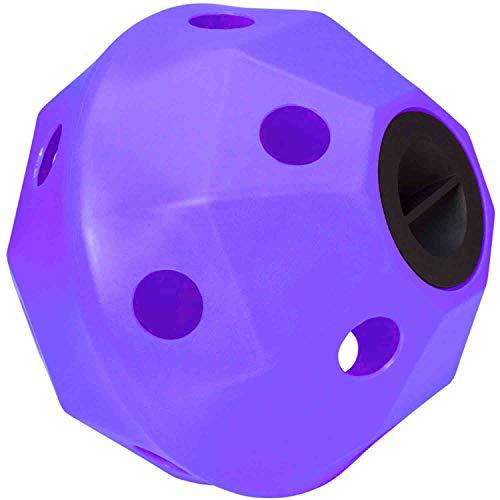 Trilanco, Prostable Pallina da Hayball, Piccoli Fori, Colore: Viola Unisex-Adulto, Standard
