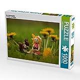 CALVENDO Puzzle Im Löwenzahn 1000 Teile Lege-Größe 64 x 48 cm Foto-Puzzle Bild von Judith...