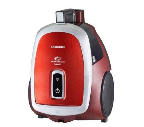 Samsung SC 4790 Aspirateur Traineau sans Sac 2000 W Rouge