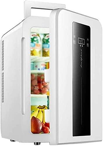 Refrigerador de coche Mini Refrigerador y calentador |Nevera eléctrica portátil fría y cálida para coche con alimentación de CA o CC de 22L portátil para guardar bebidas, vino |Camping, viajes,