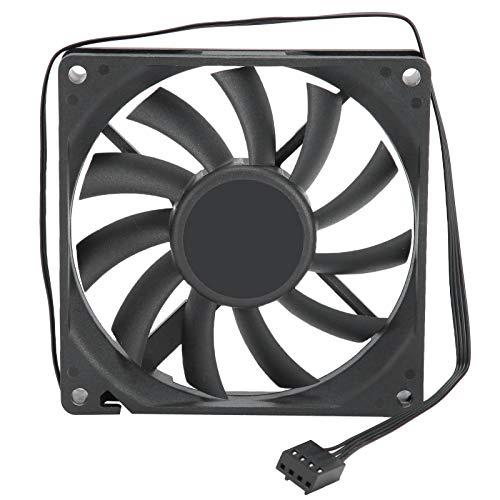 Hopcd Ventilador de radiador de CPU, PWM 4Pin Enfriador de PC Enfriador de 12 V Regulación de Velocidad Ventilador para computadora de Escritorio, Enfriadores de CPU y radiadores
