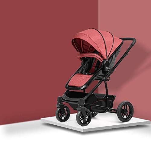 Best Buy! Anti-Shock Baby Stroller 3 in 1,Toddler Stroller,Reinforced Frame for Safety,Pram,Quick Fo...
