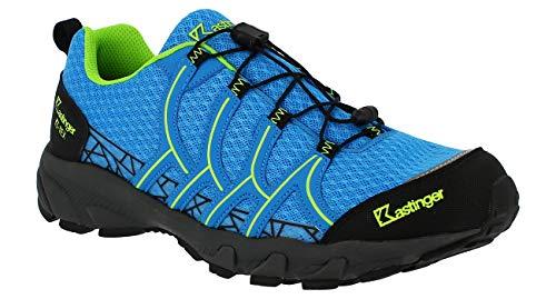 Kastinger Coolrun - Zapatillas de senderismo (impermeables, transpirables), color Azul, talla 42 EU