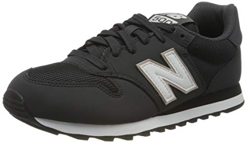 New Balance Damen 500 Sneaker, Schwarz (GW500HHB), 39 EU