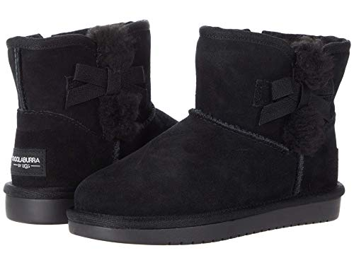 Koolaburra by UGG Girls Victoria Mini Fashion Boot, Black, 12 Little Kid